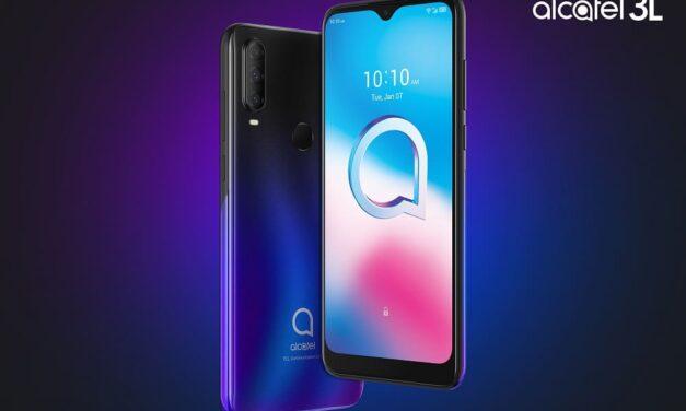 TCL Communication lanza el Alcatel 3L (2020),  un smartphone al alcance de todos que ofrece imágenes de calidad en cualquier condición de luz