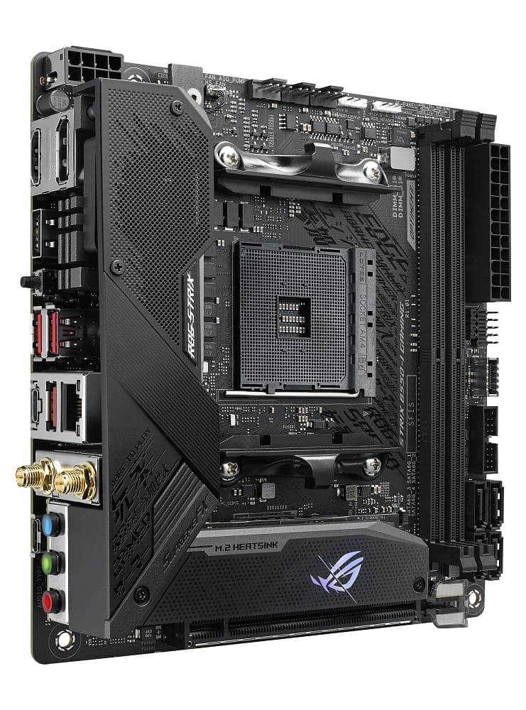 ASUS anuncia las placas base AMD B550