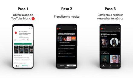 Con YouTube Music ahora es más fácil transferir tu biblioteca de Google Play Música