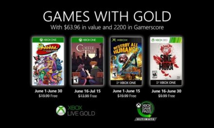 Anunciados los Games with Gold de junio de 2020