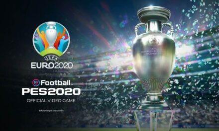 La actualización de la UEFA EURO 2020 para eFootball PES 2020 se lanzará el 4 de junio