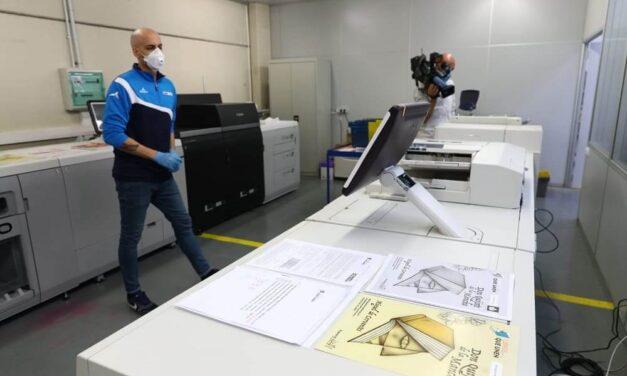 Canon se une a Ormamail en la iniciativa 'Libros que unen' e imprime 12.000 libros para alumnos aragoneses con conectividad digital limitada