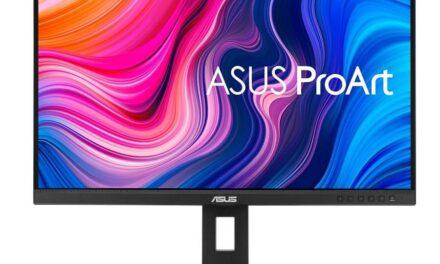 ASUS anuncia los monitores ProArt PA248QV y PA278QV