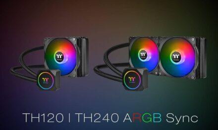 Nueva refrigeración líquida AIO Thermaltake TH120/TH240 ARGB