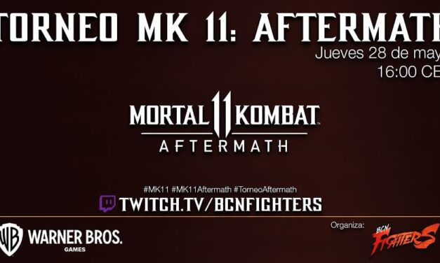 Warner Bros. Interactive Entertainment presenta el primer torneo oficial de Mortal Kombat 11: Aftermath