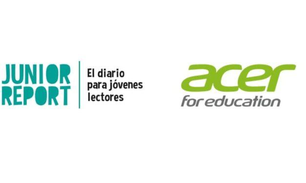 Acer renueva su acuerdo de colaboración como Partner tecnológico con Junior Report
