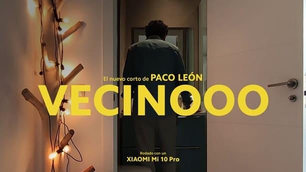 Paco León graba para Xiaomi un cortometraje sobre el confinamiento con un Mi 10 Pro
