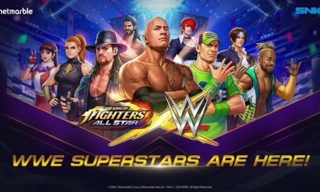 WWE Superstars tendrá participación en el The King of Fighters AllStars en un crossover sin precedentes