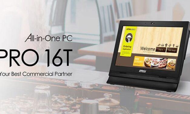 Aún más profesional con los PC de MSI todo en uno