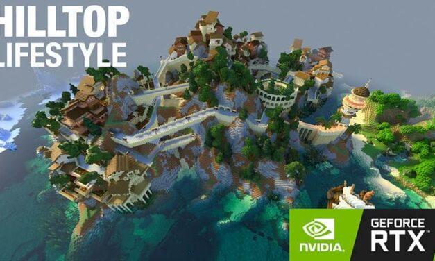 NVIDIA lanza 5 nuevos mundos para Minecraft con RTX