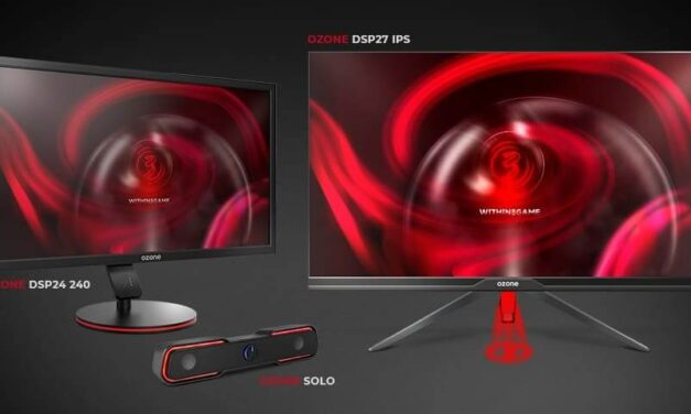 """Ozone presenta dos nuevos monitores: un 24"""" con 240 Hz y un 27"""" IPS con resolución 2K, ambos con 1 ms"""