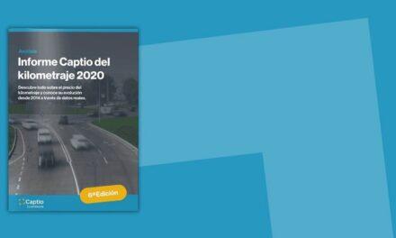 El precio medio del kilometraje en España sube en 2019 a 0,28 euros según el Informe anual de Captio