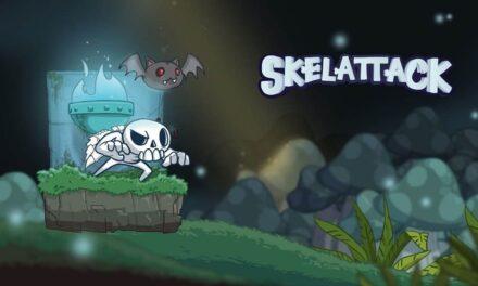 Konami y Ukuza lanzan Skelattack, nuevo título de acción de plataformas en 2D ya disponible