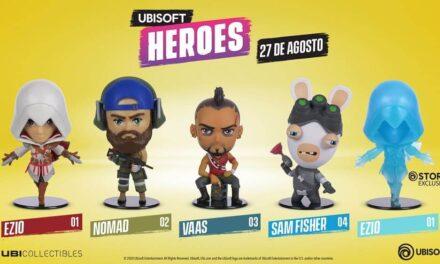 Ubisoft Heroes, una nueva colección de figuras estilo Chibi de Ubicollectibles