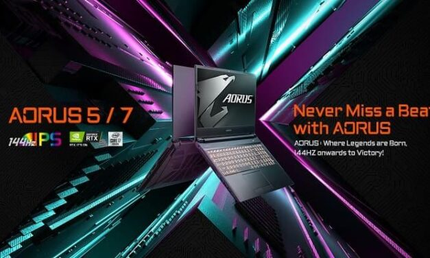 GIGABYTE presenta sus nuevos portátiles gaming AORUS 5 y AORUS 7