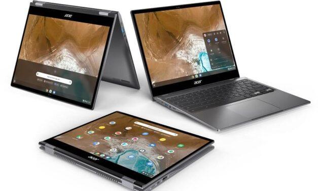 Acer presenta Chromebook Spin 713, un convertible premium 2K basado en el Proyecto Athena