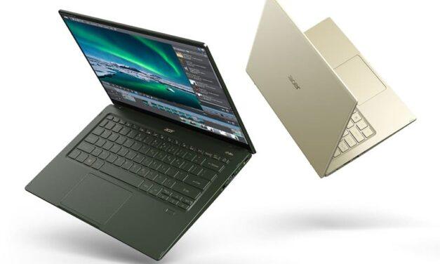 El nuevo Swift 5 de Acer combina estilo, portabilidad y rendimiento