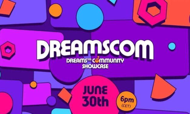 Hoy a las 18:00 no te pierdas el showcase de Dreams con sus mejores creaciones