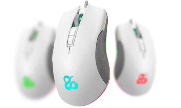"""Newskill lanza la versión """"Ivory"""" del ratón Eos, ampliando su gama de productos en color blanco"""