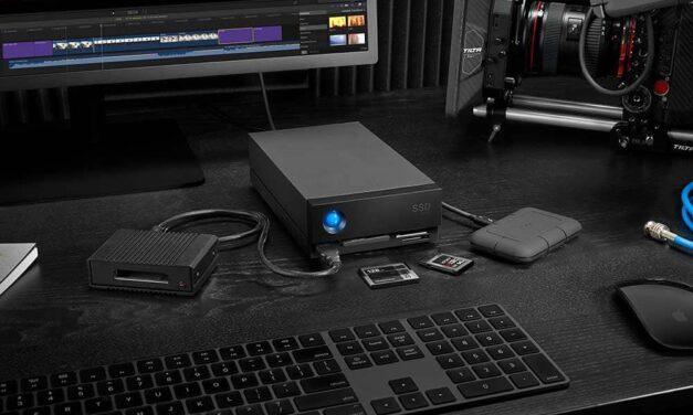 Las nuevas soluciones de almacenamiento LaCie 1Big Dock SSD PRO y 1Big Dock ofrecen rendimiento y versatilidad a los profesionales creativos
