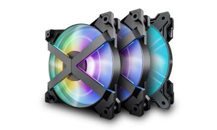 DeepCool lanza nuevos ventiladores únicos X-Frame MF120 GT A-RGB