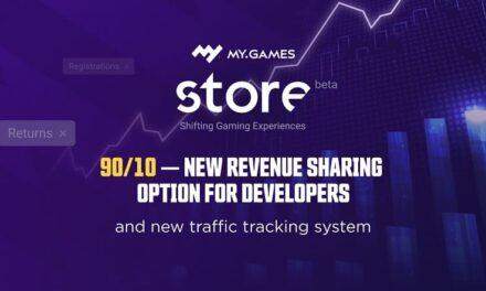 La tienda digital MY.GAMES Store ofrecerá el 90% de ingresos a los desarrolladores