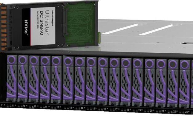 Western Digital presenta nuevas soluciones NVMe para la próxima generación de infraestructura de datos