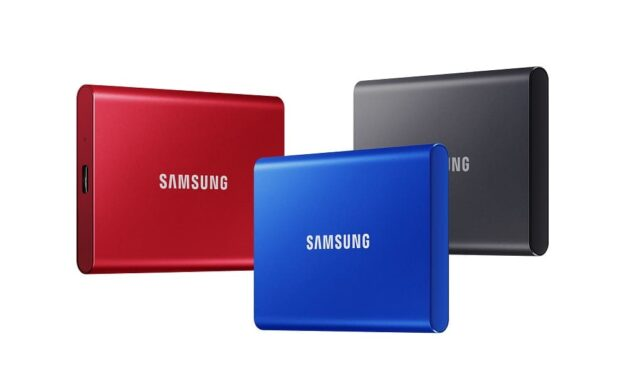 Samsung anuncia la disponibilidad del SSD externo T7 en España