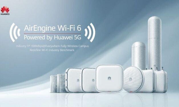 Huawei potencia el desarrollo de la educación digital a través de AirEngine Wi-Fi 6