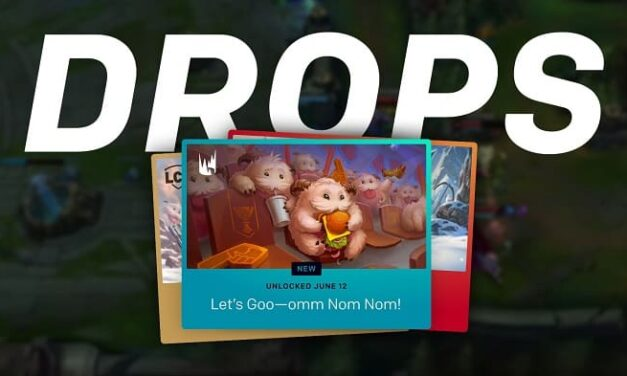 Riot Games introduce los drops para los esports de League of Legends