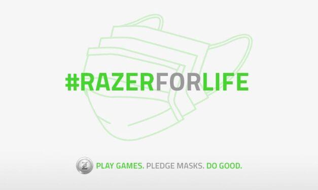 Razer une a la comunidad gaming en la lucha contra el Covid19 con #RazerForLife