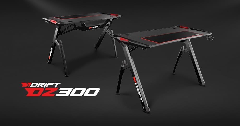 Drift amplía la familia y presenta dos mesas gaming: DZ200 y DZ300