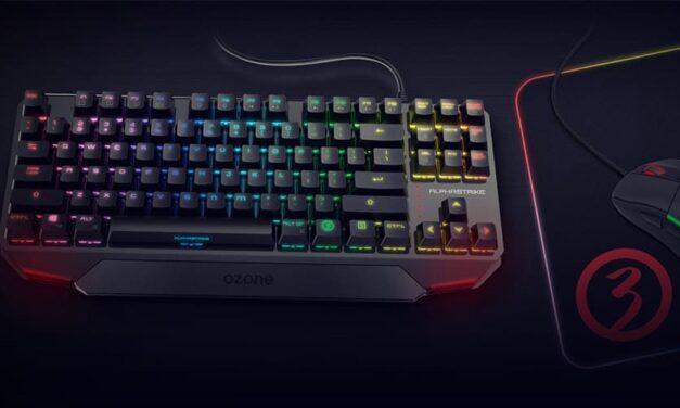 Ozone presenta Alpha Strike, un teclado ultracompacto RGB
