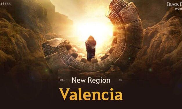 Adéntrate en Valencia, la nueva expansión gratuita que duplica la extensión del mundo de Black Desert Mobile