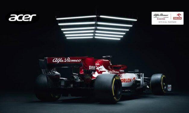Alfa Romeo Racing ORLEN y Acer siguen impulsando la innovación