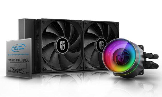DeepCool lanza el refrigerador líquido para CPU Castle 280EX
