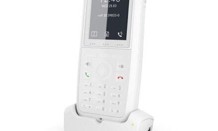 Comunicación segura e higiénica para el sector de la hostelería con el teléfono DECT M90 de Snom