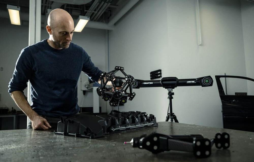 AsorCAD presenta el nuevo escáner 3D CMM óptico MetraSCAN Black