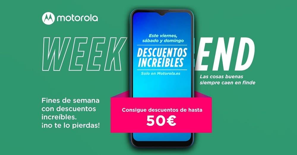 """Vuelven los descuentos """"Weekend"""" de Motorola, este fin de semana los mejores móviles con un 20% de descuento"""