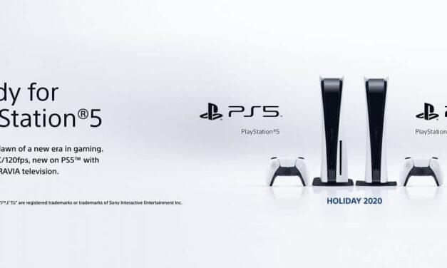 Sony anuncia el sello 'Ready for PlayStation 5' para sus actuales televisores BRAVIA
