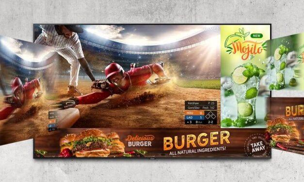 Samsung presenta su nueva gama de producto Business TV
