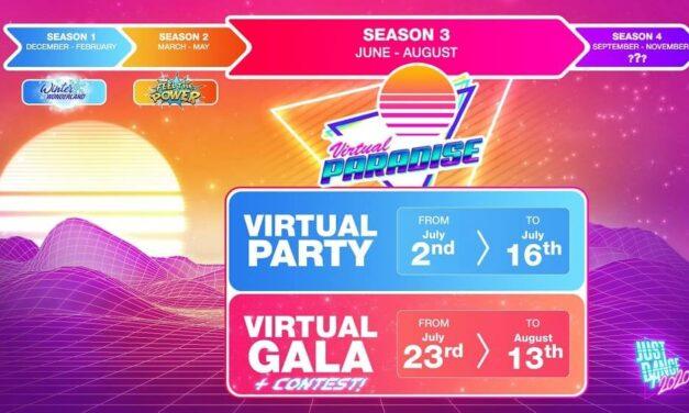 ¡Just Dance 2020 te invita a entrar en su Virtual Paradise!