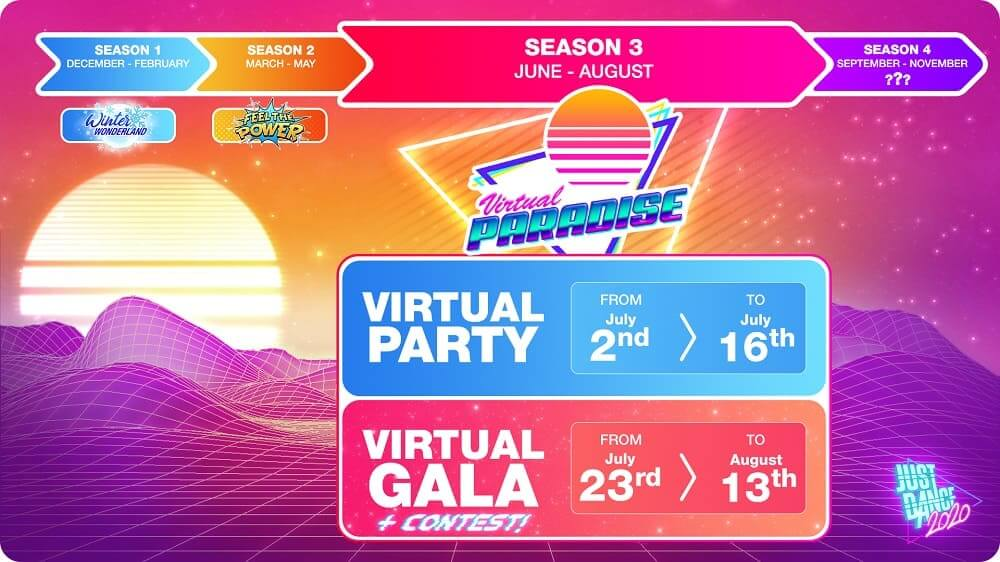 ¡Just Dance 2020 te invita a entrar en su Virtual Paradise!