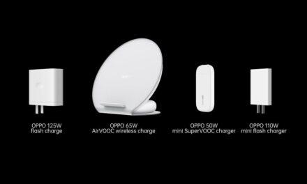 OPPO anuncia el lanzamiento de una carga rápida de 125W, de la carga rápida inalámbrica AirVOOC de 65W y del mini cargador SuperVOOC de 50W