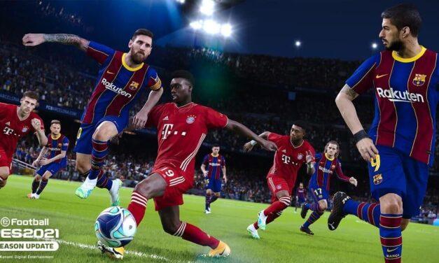 Konami anuncia eFootball PES 2021 SEASON UPDATE, disponible a partir del 15 de septiembre