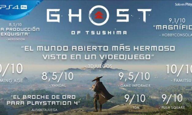 Ghost of Tsushima ya está disponible en exclusiva para PlayStation 4