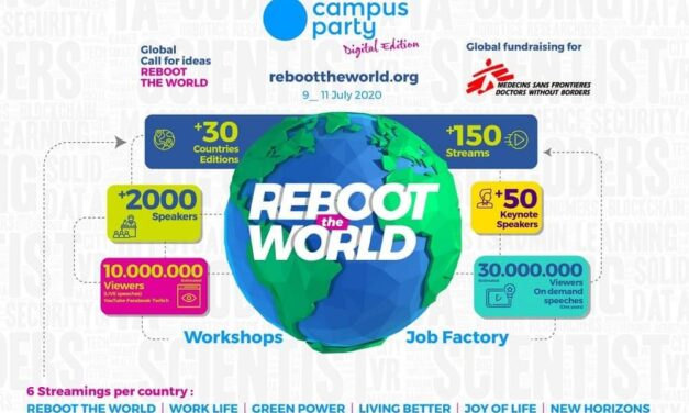 Llega Reboot the World, el mayor evento de conocimiento tecnológico de la historia