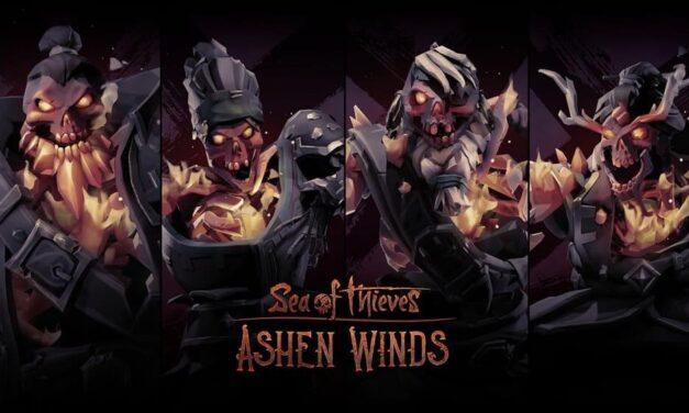 Ashen Winds, la nueva actualización gratuita de Sea of Thieves, ya está disponible