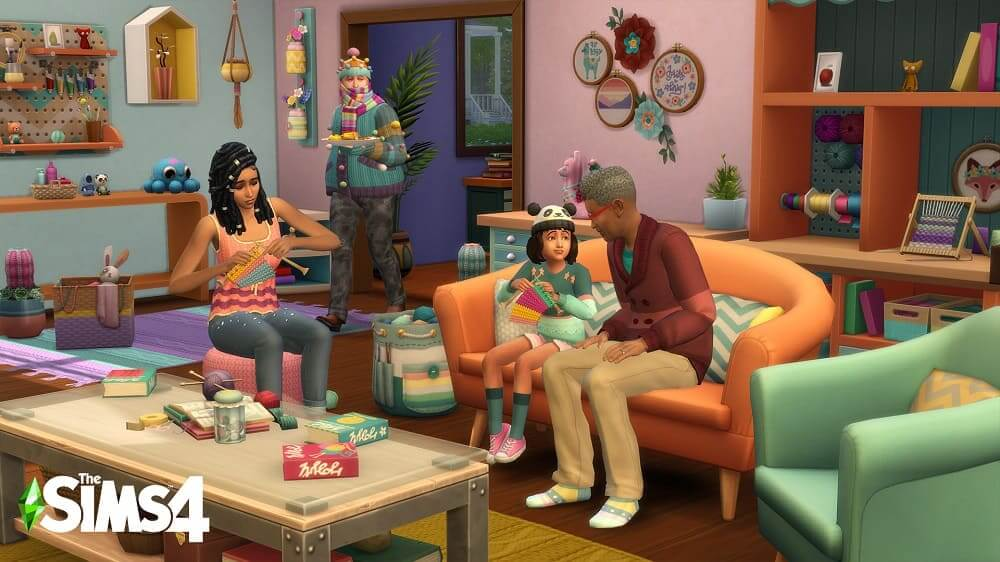 """Los Sims 4 presentan su pack """"Portentos del Punto"""""""