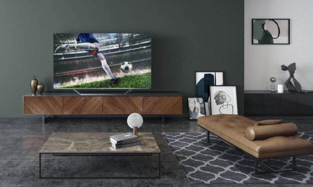 La nueva U7QF de Hisense se convierte en el nuevo televisor oficial de la UEFA